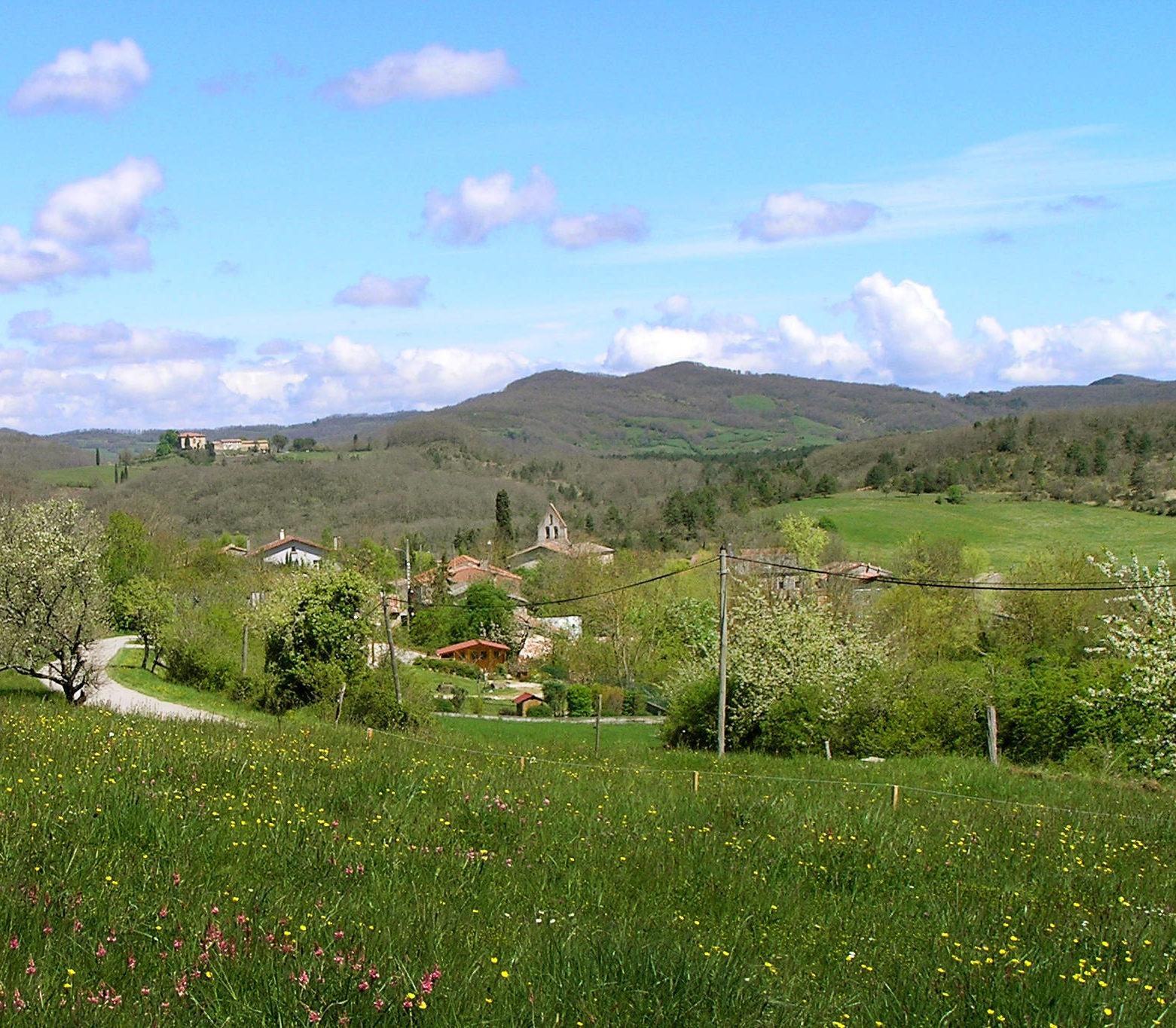 Uitzicht op Belloc
